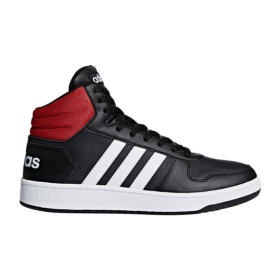 adidas Hoops 2.0 Basketball Mens Lace-up Shoes