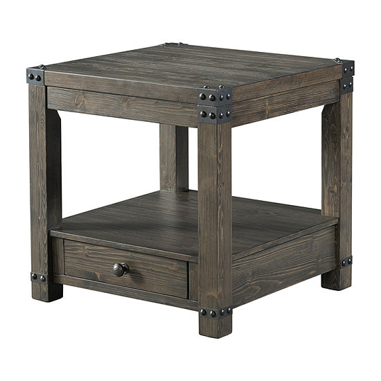 Simmons Casegoods Hawley 1-Drawer Storage End Table