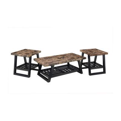 Simmons Casegoods Bemmett Coffee Table Set