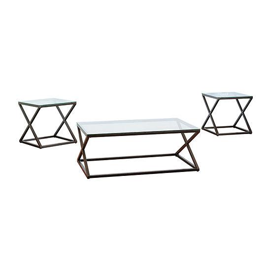 Simmons Casegoods Wren Coffee Table Set