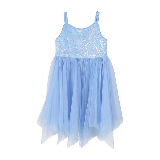 Zunie Toddler Girls Sleeveless Fit & Flare Dress