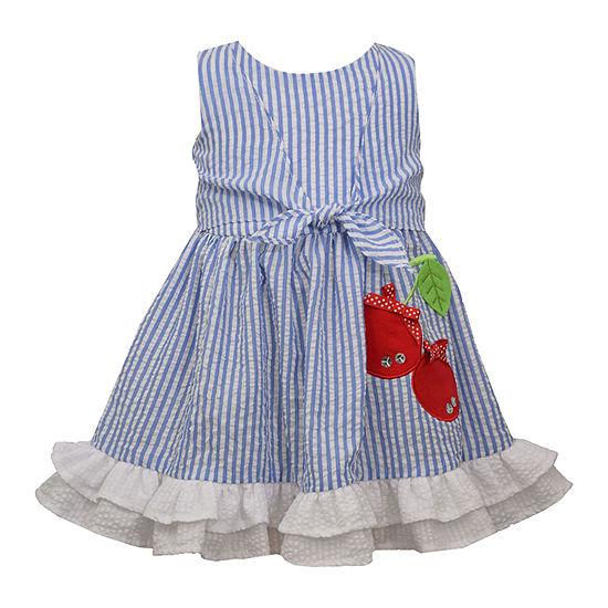Bonnie Jean Toddler Girls Sleeveless Empire Waist Dress