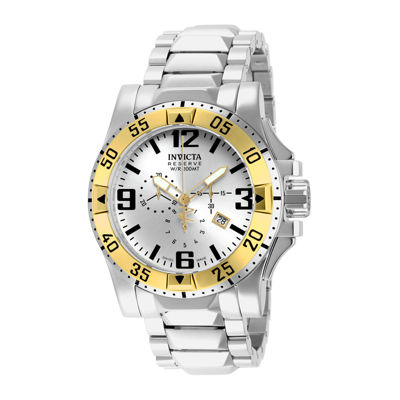 Invicta® Excursion Reserve Mens Stainless Steel Chronograph Watch 14039