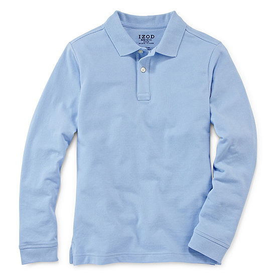 IZOD® Long-Sleeve Piqué Polo - Preschool Boys 4-7