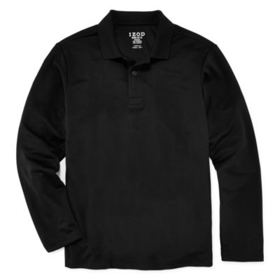 IZOD® Long-Sleeve Performance Polo - Boys 8-20