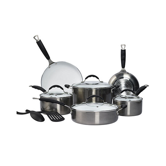 Philippe Richard® 12-pc. Ceramic Nonstick Cookware Set