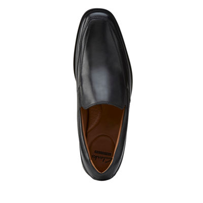 Clarks® Tilden Free Mens Leather Slip-On Dress Shoes