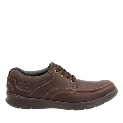 Clarks® Cotrell Edge Mens Leather Casual Shoes