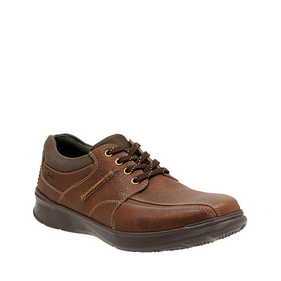 Clarks® Cotrell Walk Mens Leather Lace Up Shoes