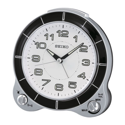 Seiko® Bedside Alarm with Snooze Clock Qhk031slh