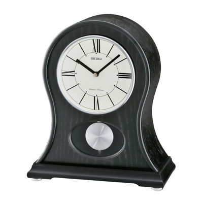 Seiko® Mantel Clock With Quarter-Hour Chime And Pendulum Qxq027klh
