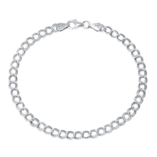Silver Reflections Sterling Silver 75 Link Chain Bracelet