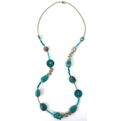 Aris by Treska Beaded Necklace