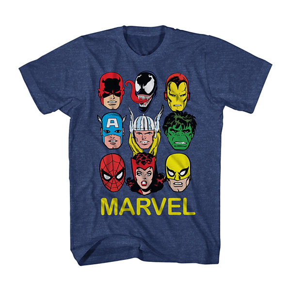 Marvel® Short-Sleeve Mugs Tee