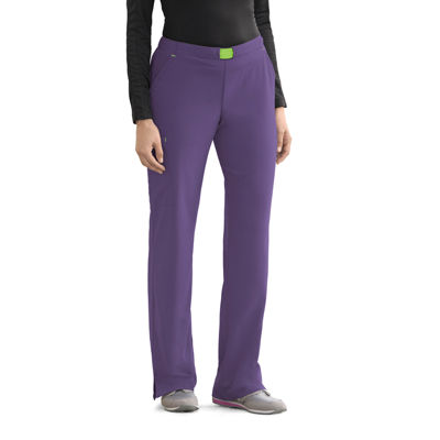 Jockey® Womens Convertible Drawstring Scrub Pants - Petite Plus