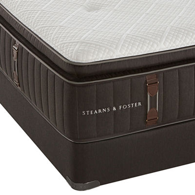 Stearns and Foster® No. 3 Luxury European Pillow-Top - Mattress + Box Spring