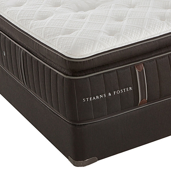 Stearns and Foster® Gabriella Leigh Firm EPT - Mattress + Box Spring
