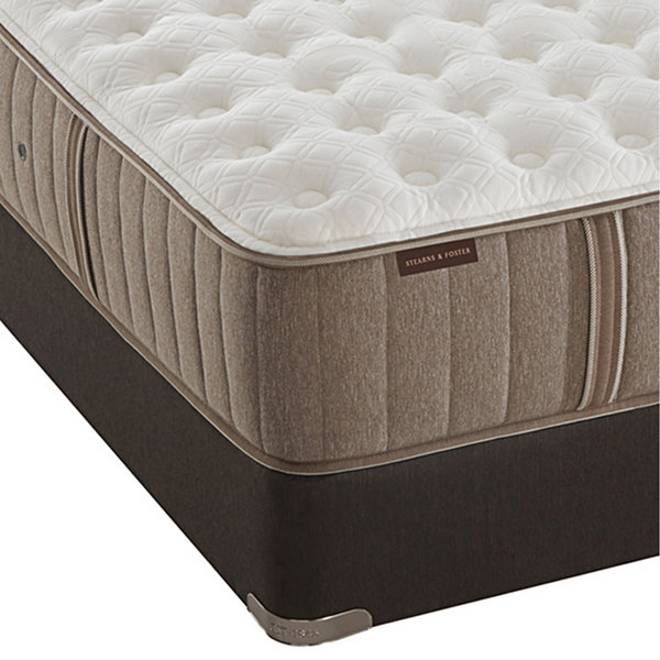 Stearns And Foster Hannah Grace Luxury Firm Mattress Box Spring