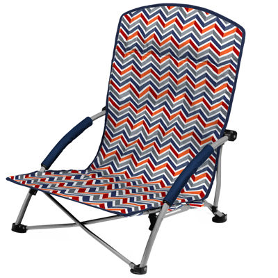 Picnic Time® Tranquility Portable Folding Beach Chair