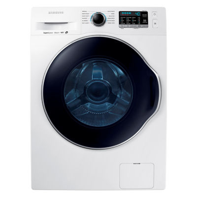 Samsung ENERGY STAR® 24 In. Wide 2.2 Cu. Ft. High-Efficiency Front-Load Washer With Steam