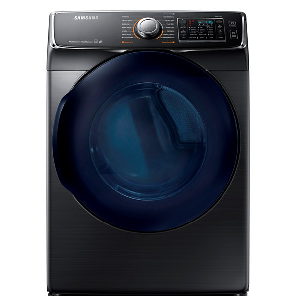 Samsung ENERGY STAR® 7.5 cu. ft. Smart Wi-Fi Enabled Electric Dryer with Steam