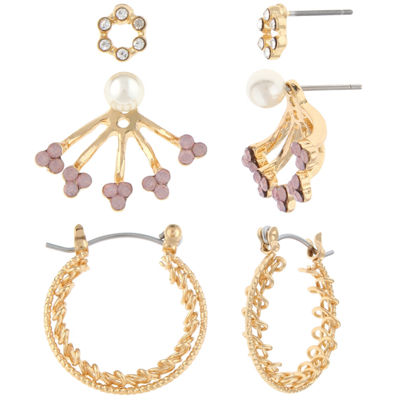 Decree 1 Pair Pink Earring Sets