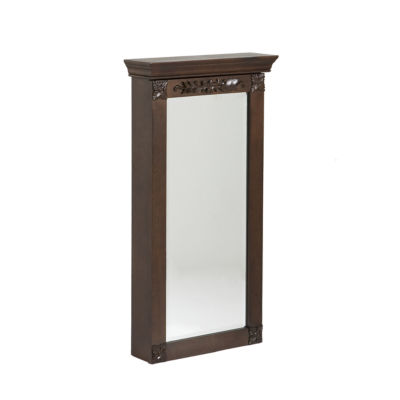 Roma Wall Mount Jewelry Armoire
