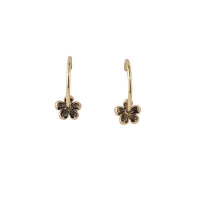 Artsmith By Barse Bronze Hoop Earrings