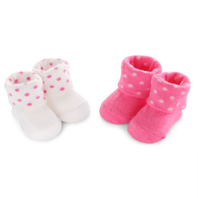 Carter's 2 pk. Infant Girls Booties