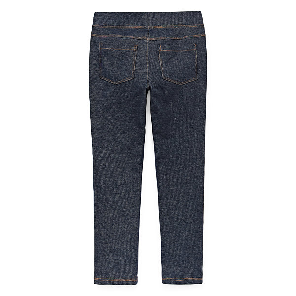Okie Dokie Pull-On Jeggings- Preschool Girls