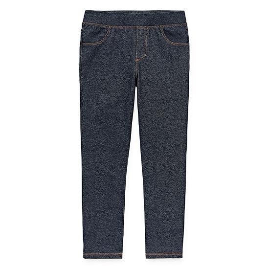 Okie Dokie Girls Pull-On Pants - Preschool