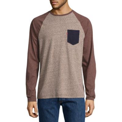 Levi's® Kareem Raglan Crew Neck T-Shirt