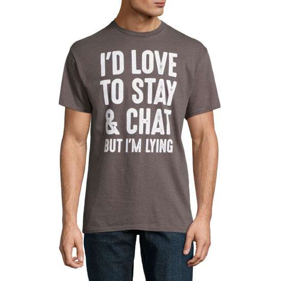 Stay and Chat Graphic Tee