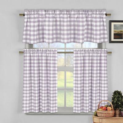 Duck River Textiles Kingston 2-pc. Kitchen CurtainSet