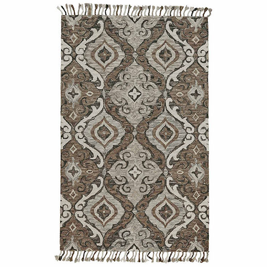 Weave And Wander Calendra Argyro Hand Tufted Rectangular Indoor Rugs