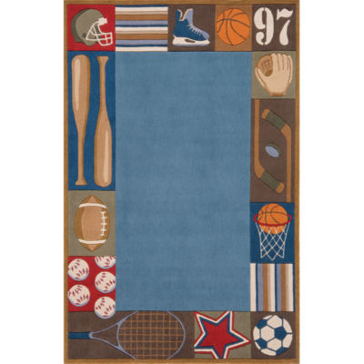 Momeni Lil Mo All Star Hand Tufted Rectangular Rugs