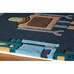 Momeni Lil Mo Robots Hand Tufted Rectangular Indoor Rugs