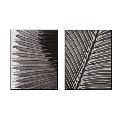 Madison Park Palm Fronds 2-pc. Canvas Art