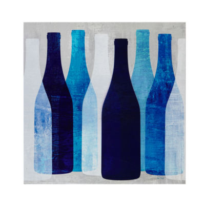 INK + IVY Pop Bottle Printed Box Wall Art