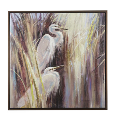 Madison Park Signature Seaside Egrets Canvas Art