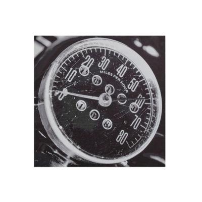 INK + IVY Speedometer Printed Box Wall Art
