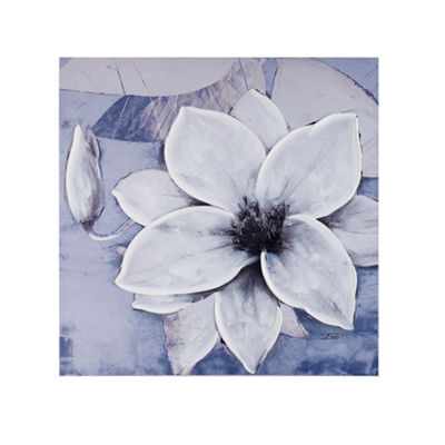 Madison Park Dusty Bloom Canvas Art