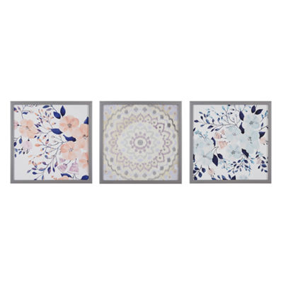 Intelligent Design Summer Bliss 3-pc. Canvas Art