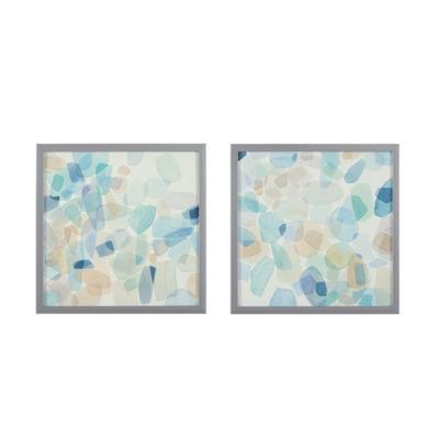 Intelligent Design Gemstone Tiles Box Canvas Art