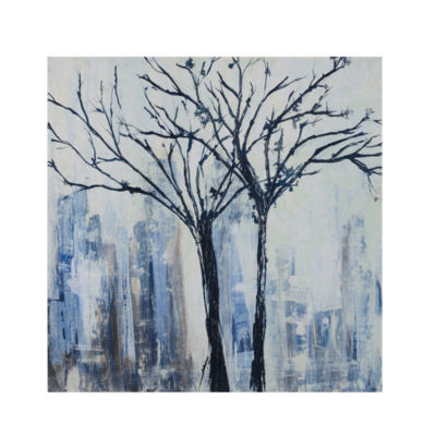 INK + IVY Urban Trees Canvas Art
