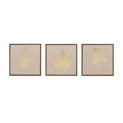 Madison Park Golden Harvest 3-pc. Canvas Art