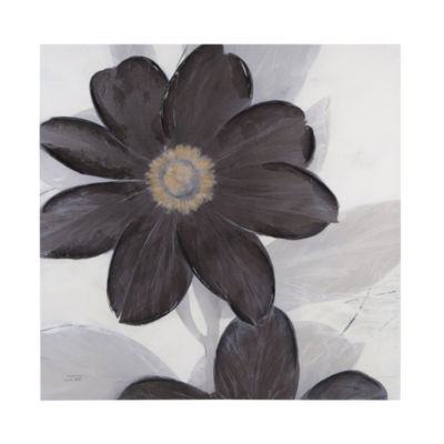 Madison Park Midnight Bloom Canvas Art