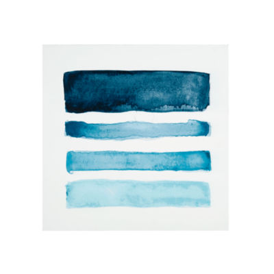 INK + IVY Blue Notes Printed Box Wall Art