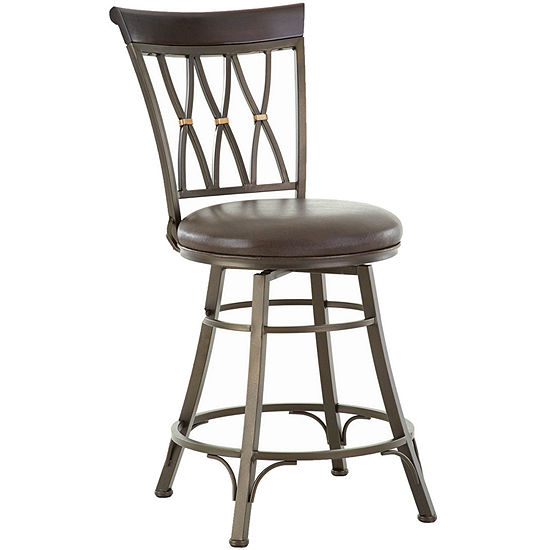 Tipton Counter Height Upholstered Bar Stool