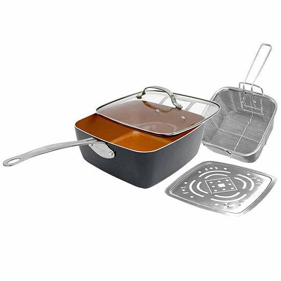 Gotham Steel 9.5 Inch 4-pc. Frying Pan